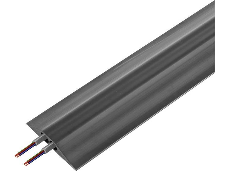 Vulcascot Kabelbrug Rubber Zwart Aantal kanalen: 2 4500 mm Inhoud: 1 stuks