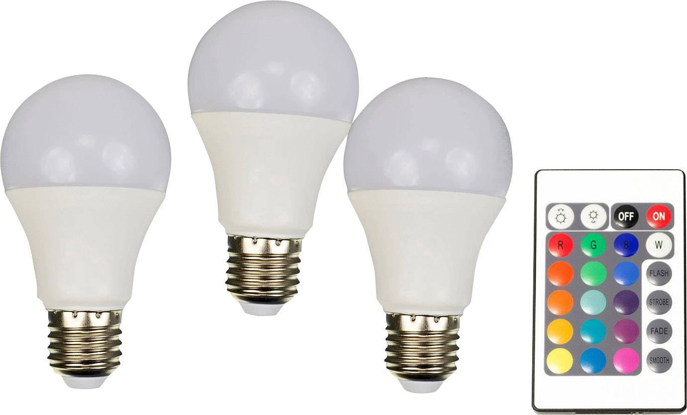 X4-LIFE LED-lamp E27 7.5 W = 40 W RGBW Peer 3 stuks | Conrad.nl
