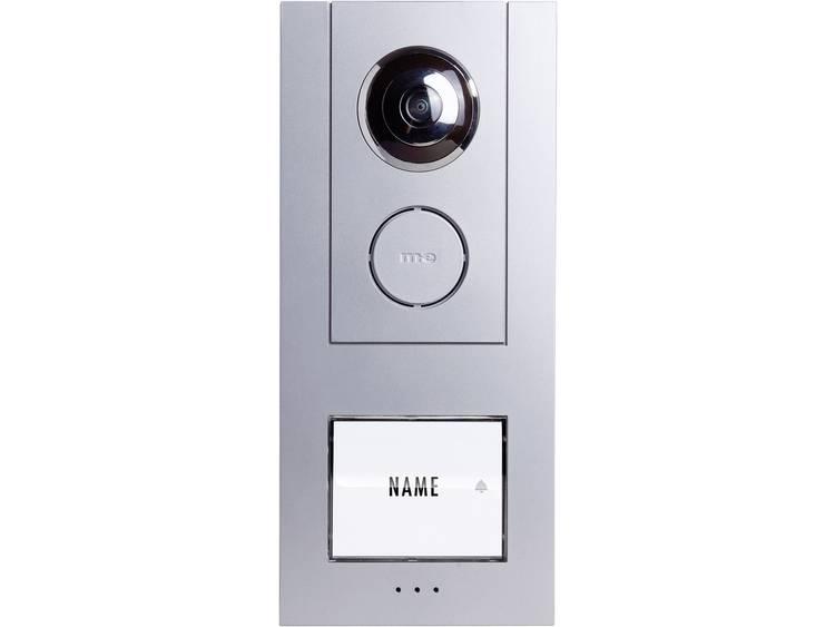 m-e modern-electronics 41007 Video-deurintercom Kabelgebonden Buitenunit voor 1 gezinswoning Zilver