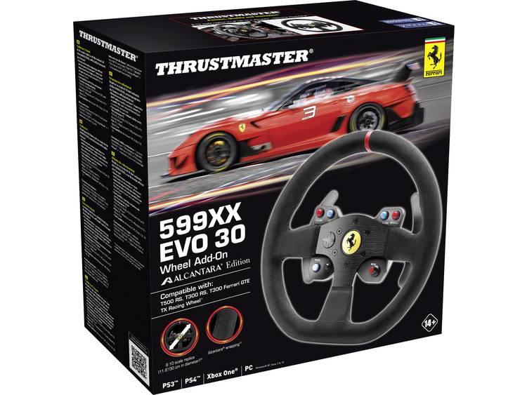 Stuur Add-on Thrustmaster 599XX EVO 30 Alcantara Edition Xbox One, PlayStation 3, PlayStation 4, PC Zwart