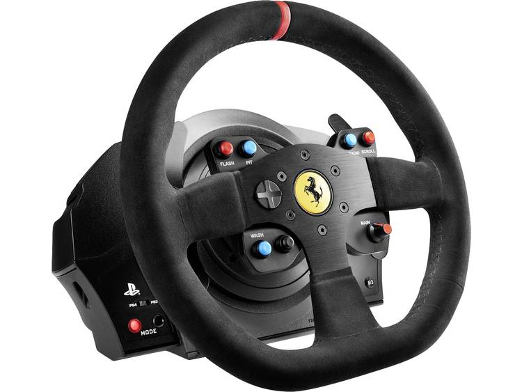 Stuur Thrustmaster T300 Ferrari Integral Alcantara Edition PlayStation 4 Zwart Incl. pedaal