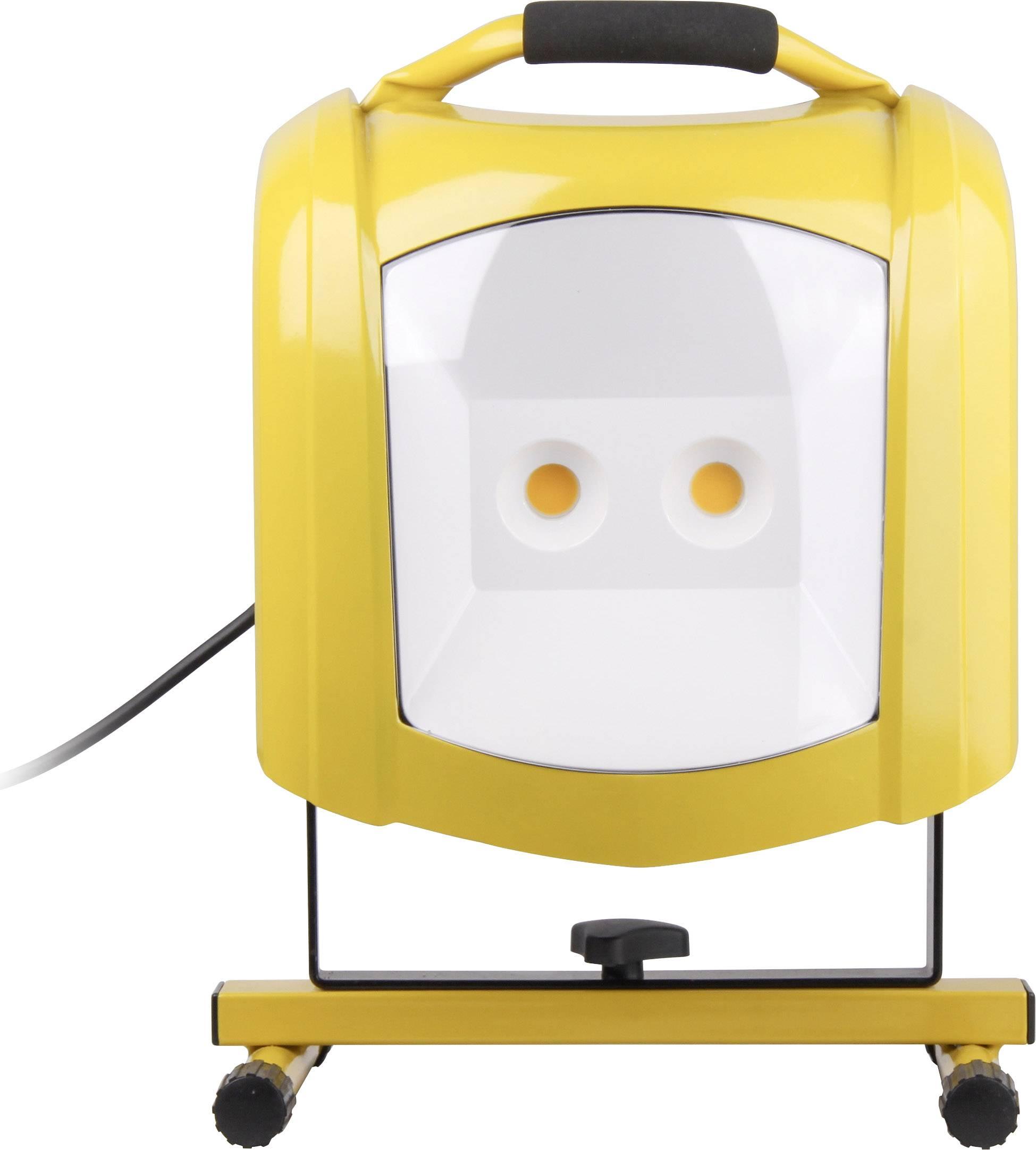 SmartwaresBouwplaatsen verlichting 10.021.08 Geel LED vast ingebouwd ...