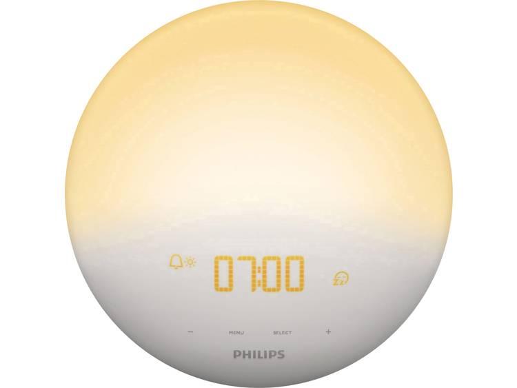 Philips Lichtwekker Wake Up Light mit Radio HF3510 01 16.5 W