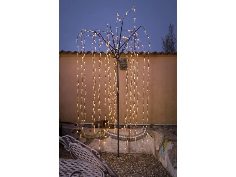 Indrukwekkende LED-lichtboom buiten 250 cm 384-l.