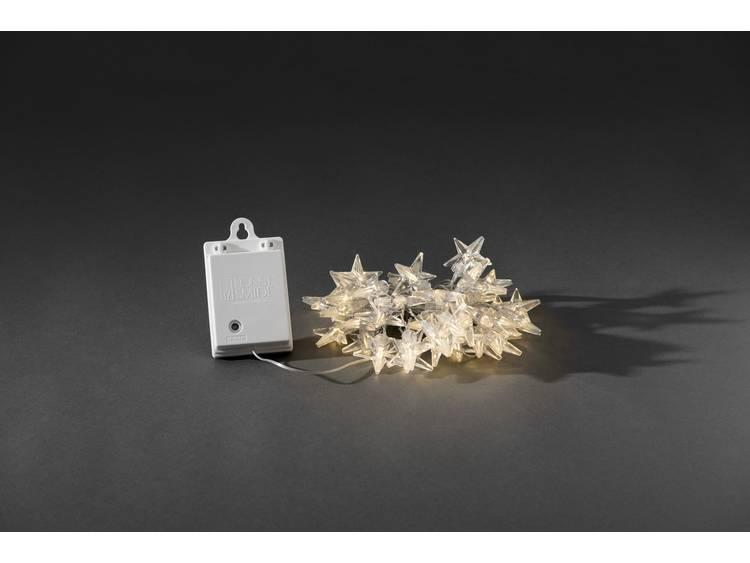 Buiten-lichtketting Sterren LED, 80-lamps