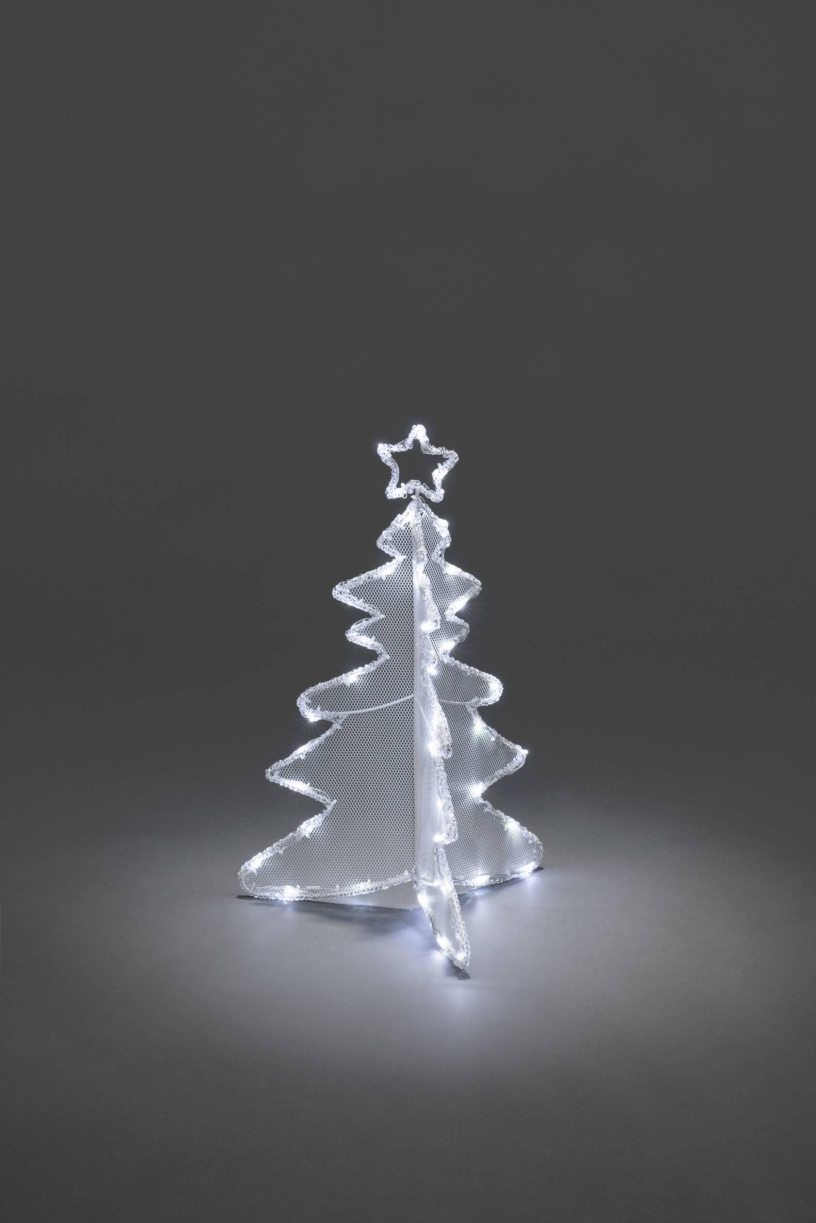 Acryl Figuur Energielabel A A E Kerstboom Koud Wit Led