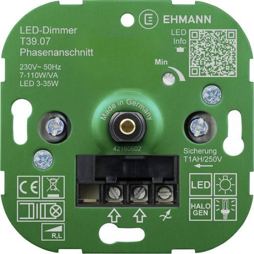 ehmann 3900x0700 dimmer inbouw geschikt voor lampen. Black Bedroom Furniture Sets. Home Design Ideas