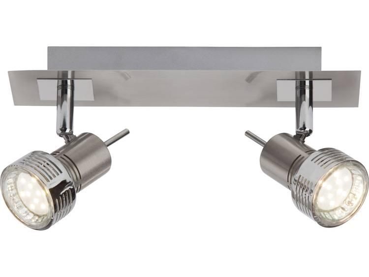 Plafondspot LED GU10 6 W Brilliant Alberta G34729-77 Chroom (gesatineerd)