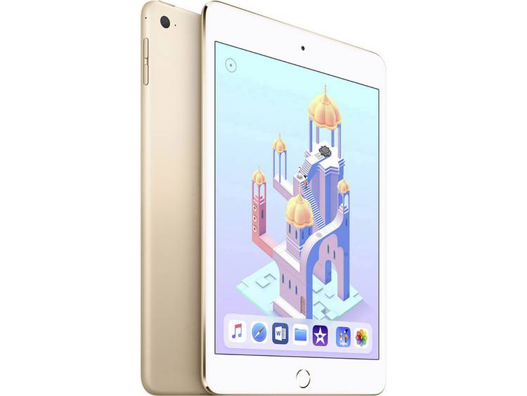 Apple iPad mini 4 Wi-Fi 128GB goud met 7,9 inch Display (MK9Q2FD-A)