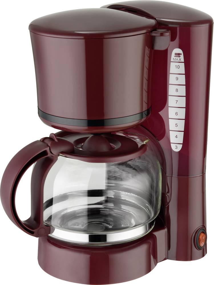 Image of Koffiezetapparaat EFBE Schott SC KA 1080 WR Wijnrood Capaciteit koppen=10 Warmhoudfunctie