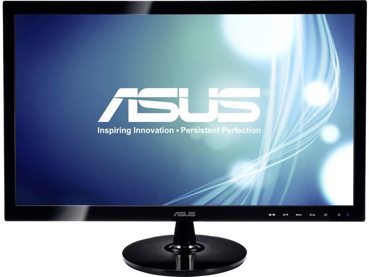 LED-monitor 61 cm (24 inch) Asus VS248HR Energielabel A+ 1920 x 1080 pix Full HD 1 ms HDMI, VGA, DVI, Hoofdtelefoon (3.5 mm jackplug) TN Film