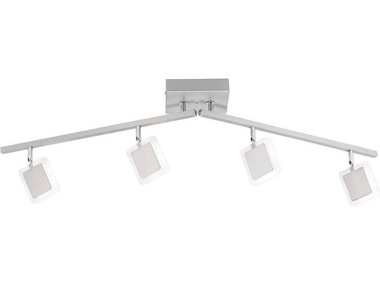 LED-plafondspot 19.2 W Warmwit, RGB Paul Neuhaus Vidal 6224-55 RVS