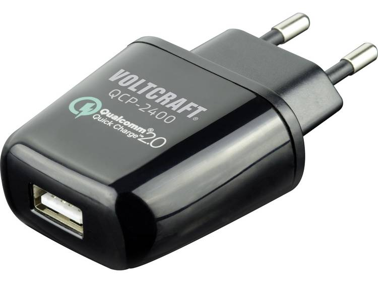 VOLTCRAFT QCP-2400 USB-oplader (Thuislader) Uitgangsstroom (max.) 2400 mA 1 x USB Qualcomm Quick Cha