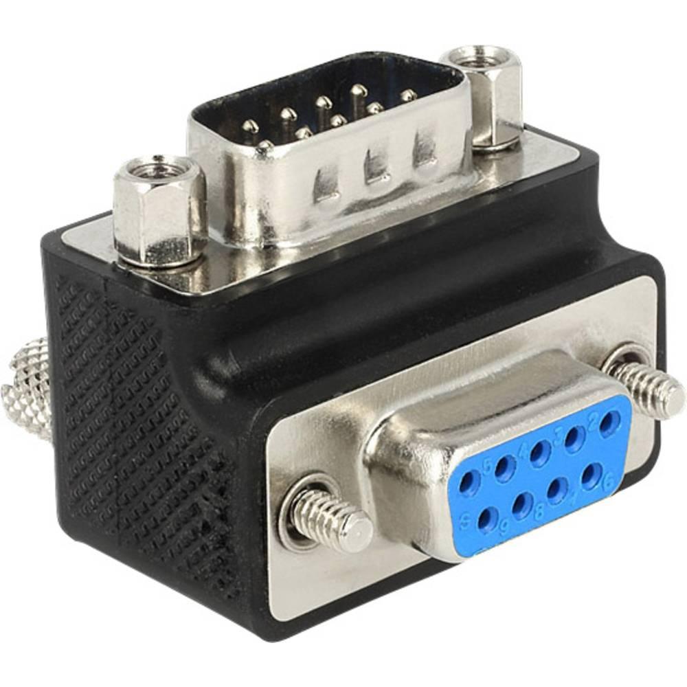 Delock VGA Adapter [1x VGA stekker <=> 1x VGA bus] Zwart