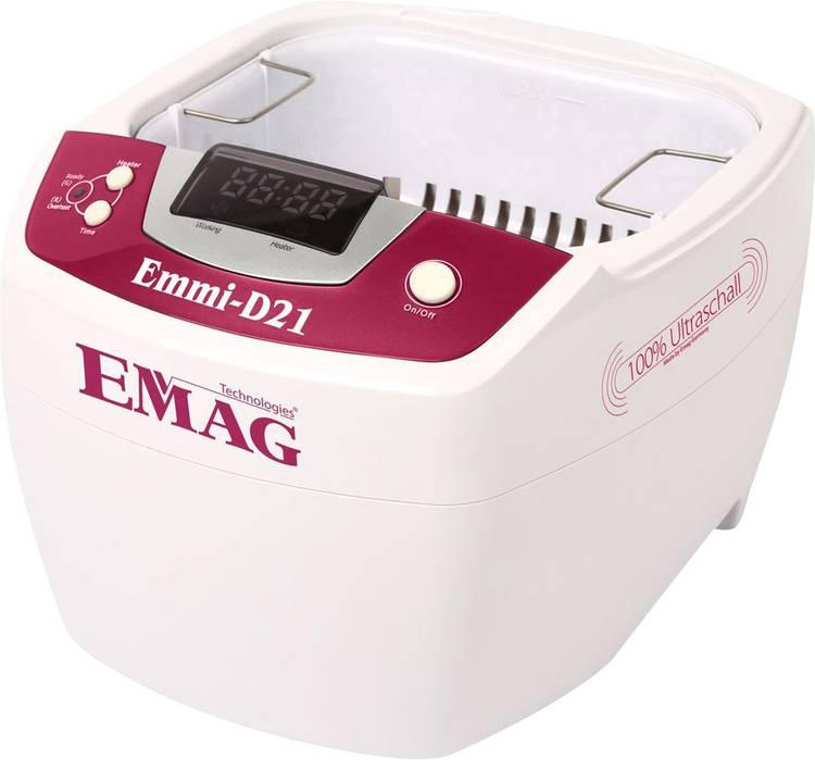 Emag Emmi D21 Ultrasoonreiniger 80 W 2 l met verwarming