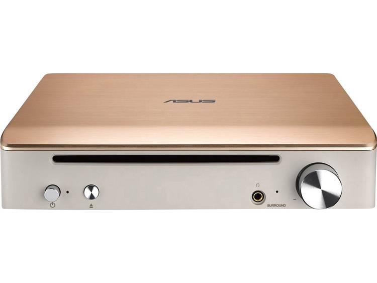Externe Blu-ray brander Asus SBW-S1 Retail USB 2.0 Goud