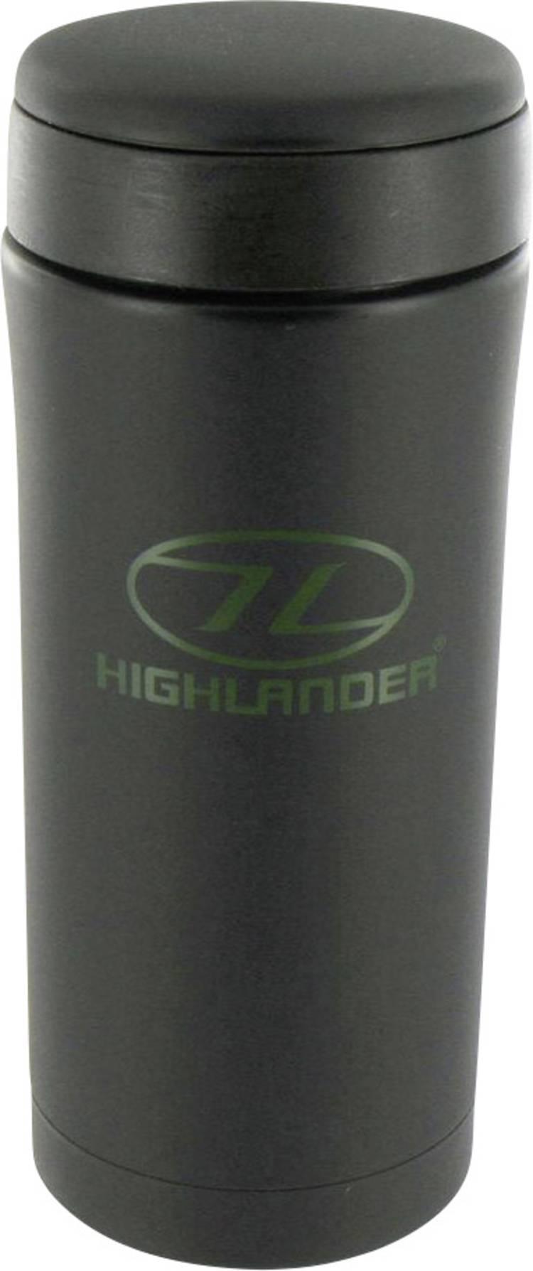 Image of Highlander Sealed Mug CP163-BK Thermosbeker Zwart 330 ml