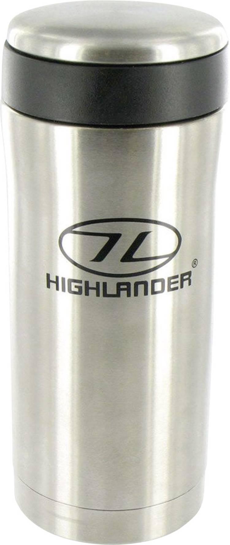 Image of Highlander Sealed Mug CP163-SR Thermosbeker Zilver 330 ml