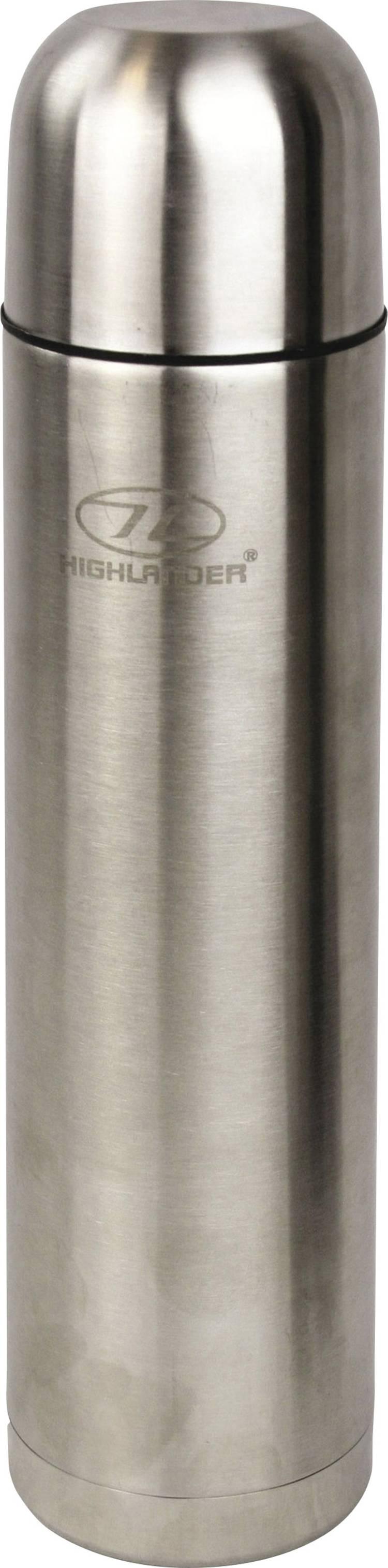 Image of Highlander Tufflasks FLA104 Thermosfles Zilver 1000 ml