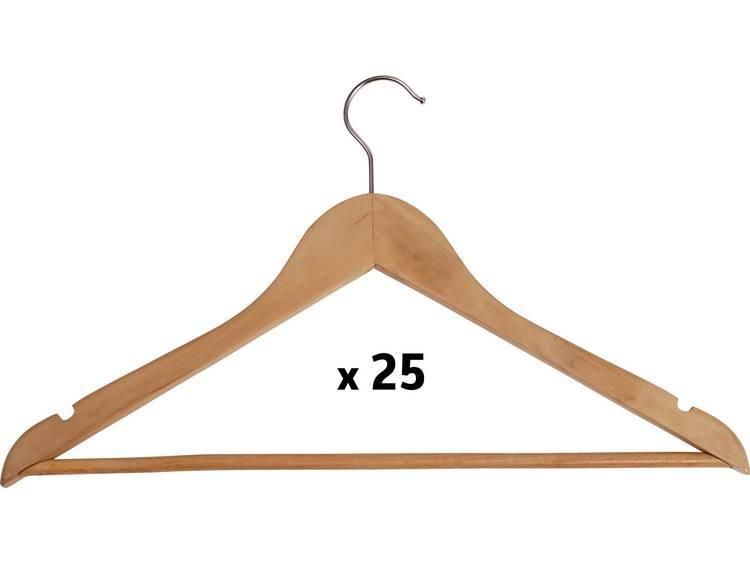 Maul 9453270 Kleiderbügel Holz Basic, 25er (b x h) 450 mm x 220 mm Hout 25 stuks