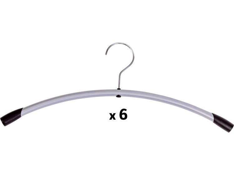 Alba Metalen hangers Grijs 6 Stuks