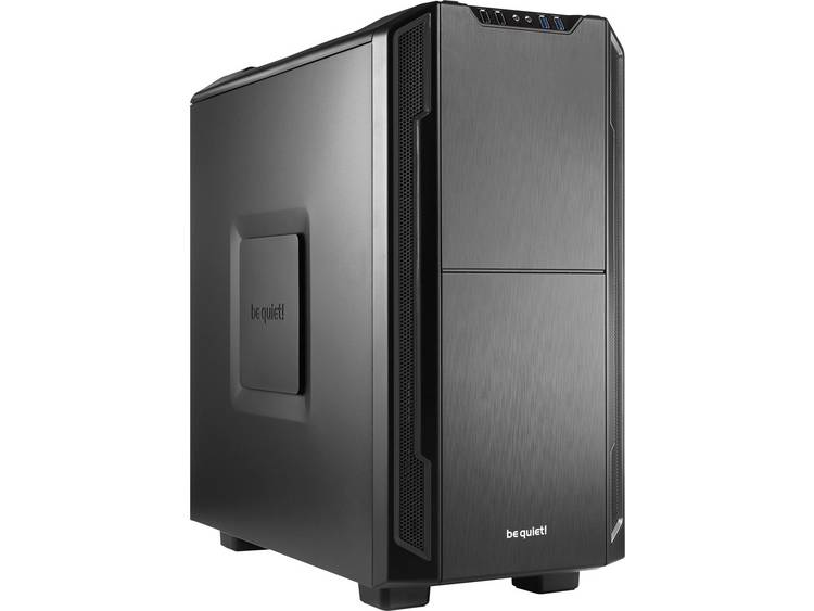 Midi-tower Gaming-behuizing BeQuiet Silent Base 600 Zwart