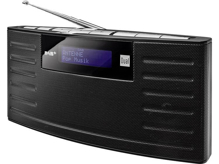 Dual DAB 15 DAB+ Transistorradio DAB+, FM Herlaadbaar Zwart