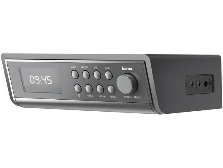 Internetradio Hama Onderbouwradio Zilver