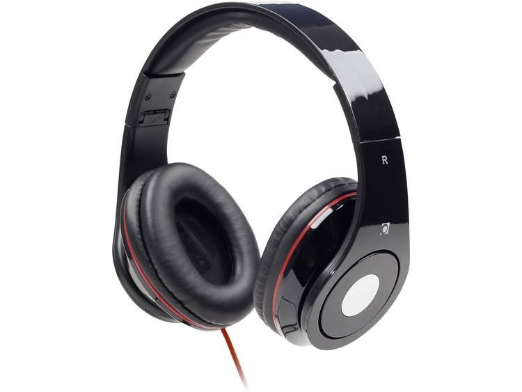 Gembird Detroit Koptelefoon On Ear Vouwbaar Headset Zwart