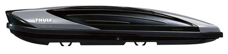 Dakkoffer Thule Excellence XT Titan 470 l Zwart. Titaan