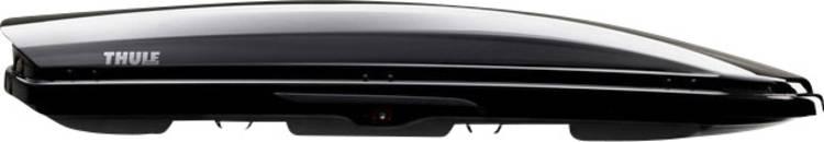 Dakkoffer Thule Dynamic M black glossy 320 l Zwart (glanzend)