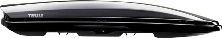 Dakkoffer Thule Dynamic L black glossy 430 l Zwart (glanzend)