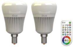 Led Lampen Dimbaar : Tronix dimable e led lamp w milky pointed for domotica dimmers