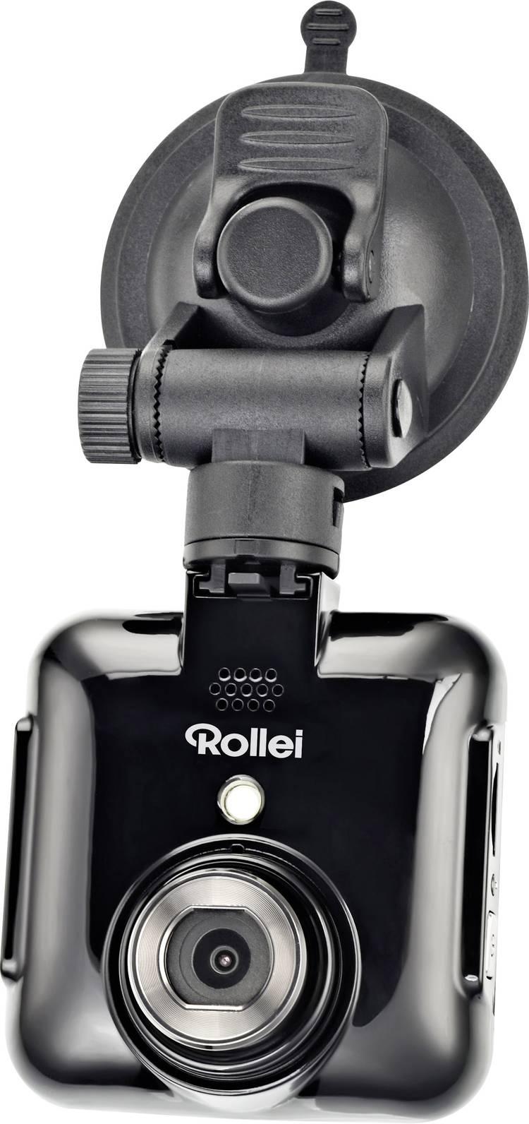 Rollei DVR-71 Dashcam Kijkhoek horizontaal (max.): 120  12 V Accu. Display. Microfoon