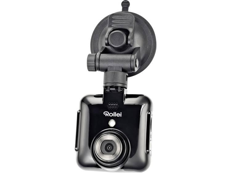 Rollei DVR 71 Dashcam Kijkhoek horizontaal (max.) 120 ° 12 V Accu, Display, Microfoon