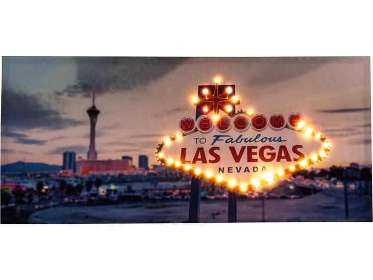 LED-schilderij Las Vegas Heitronic Las Vegas 34082