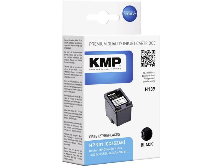 KMP Inkt vervangt HP 901 Compatibel Zwart H139 1711,4831