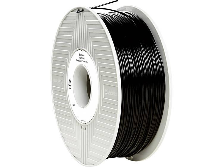 Verbatim Verbatim 3D Printer Filament PLA 1,75 mm 1 kg zwart (55267)