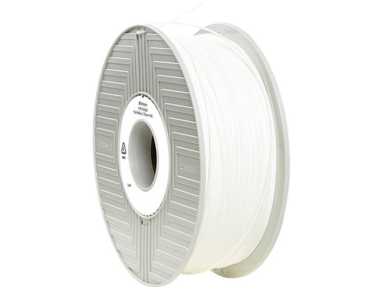 Filament Verbatim 55268 PLA kunststof 1.75 mm Wit 1 kg