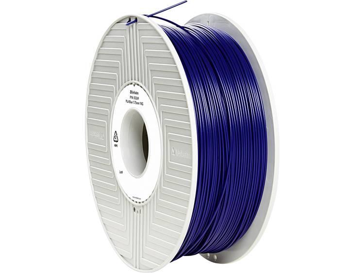 Verbatim Verbatim 3D Printer Filament PLA 1,75 mm 1 kg blauw (55269)
