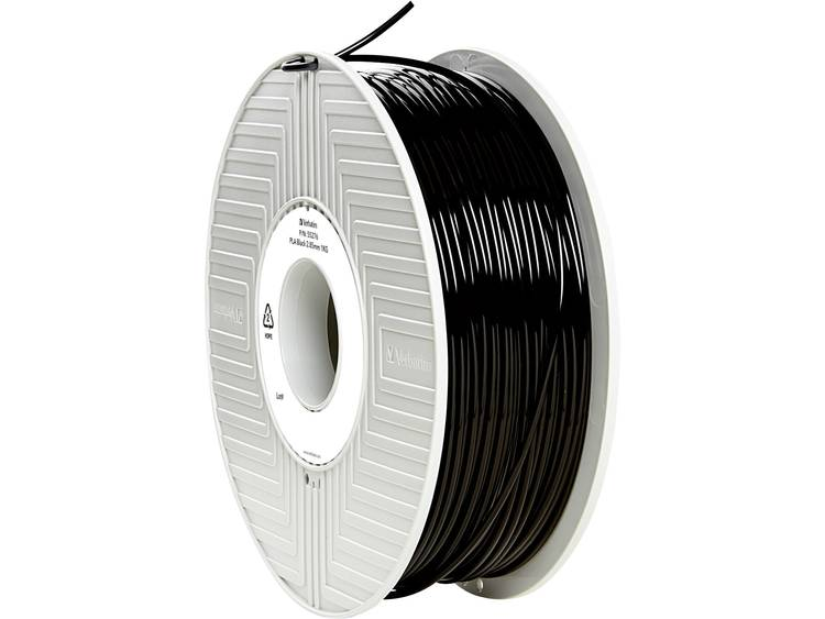 Verbatim Verbatim 3D Printer Filament PLA 2,85 mm 1 kg zwart (55276)