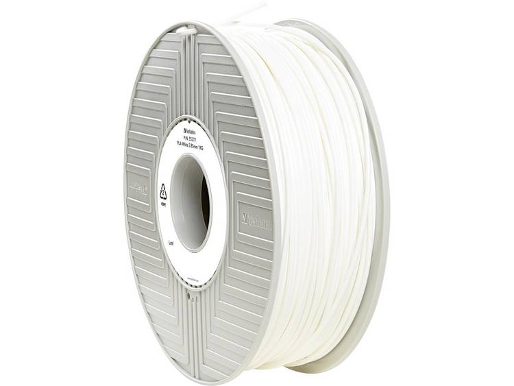 Verbatim Verbatim 3D Printer Filament PLA 2,85 mm 1 kg wit (55277)