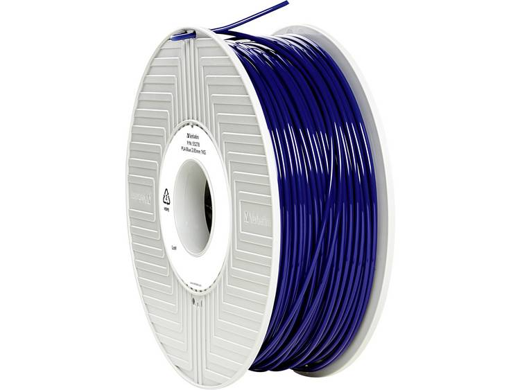 Verbatim Verbatim 3D Printer Filament PLA 2,85 mm 1 kg blauw (55278)