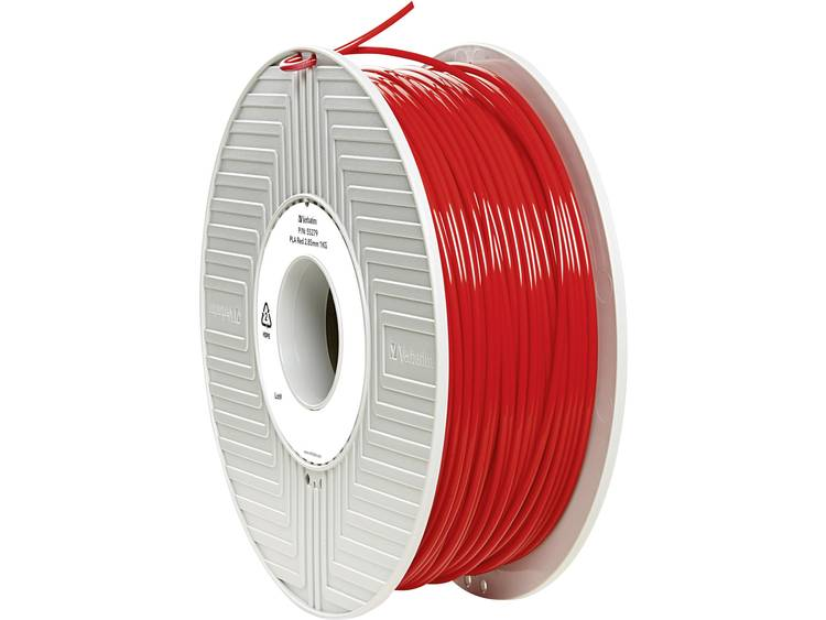 Filament Verbatim 55279 PLA kunststof 2.85 mm Rood 1 kg