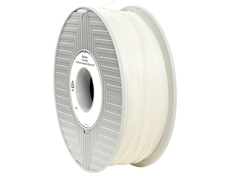 Filament Verbatim 55282 PLA kunststof 2.85 mm Transparant 1 kg