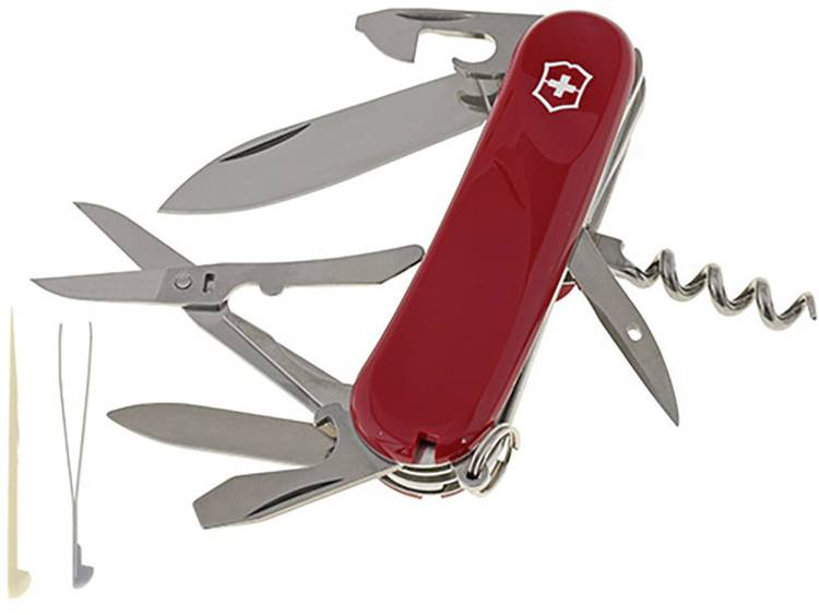 Victorinox Evolution 2.3903.E Zwitsers zakmes Aantal functies: 14 Rood
