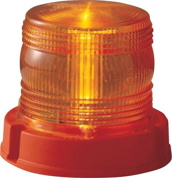 AJ.BA Zwaailicht FM.01.013 12 V, 24 V werkt op boordnet Schroefmontage  Oranje