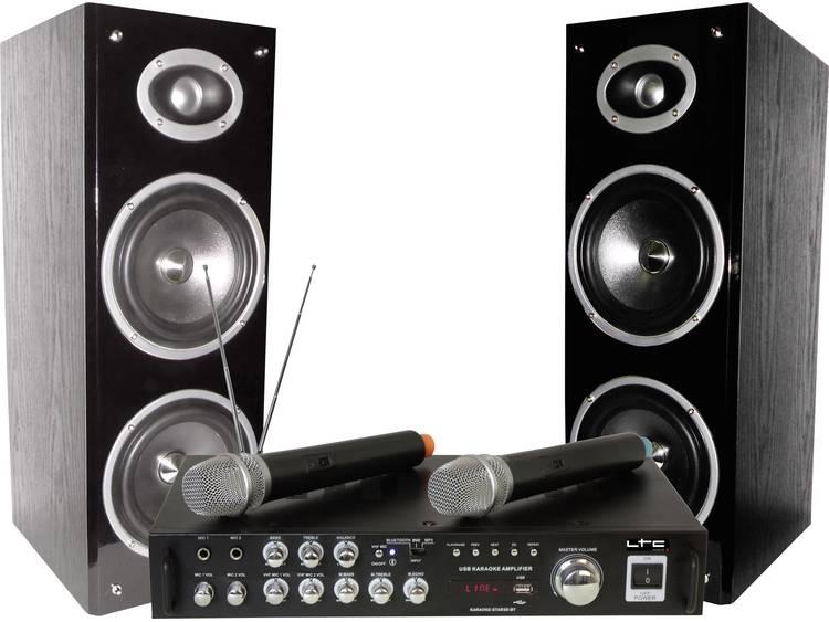 LTC KARAOKE-STAR3-WM Karaoke Set Met Digital Display Bluetooth & 2 VHF Microfoons
