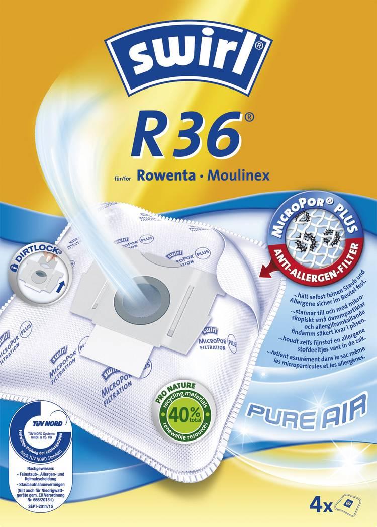 Swirl R36 AirSpace Stofzuigerzak 4 stuks