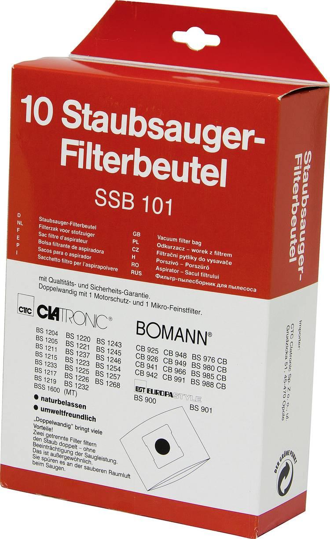 Image of Clatronic SSB 101 Stofzuigerzak 10 stuks
